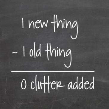 0 clutter